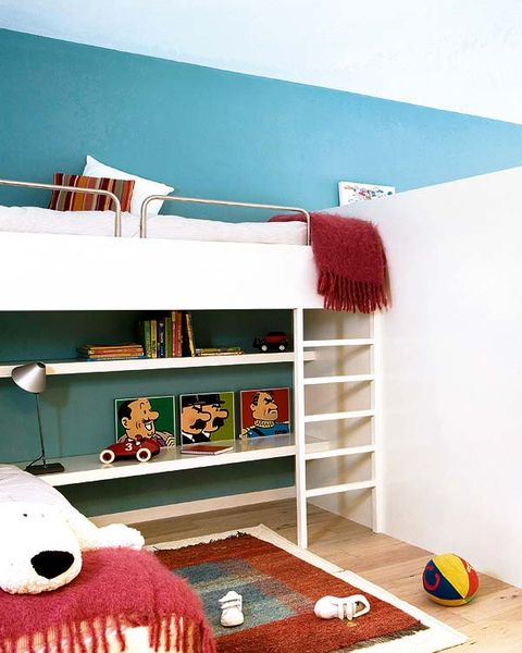 Room, Shelving, Interior design, Shelf, Turquoise, Teal, Wool, Creative arts, Toy, Woolen,