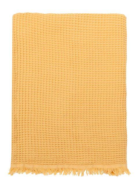 Yellow, Orange, Beige, Rectangle, Kitchen towel, Linens,