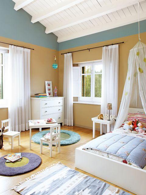 Dormitorios infantiles bonitos y pr cticos - Cortinas dormitorio infantil ...