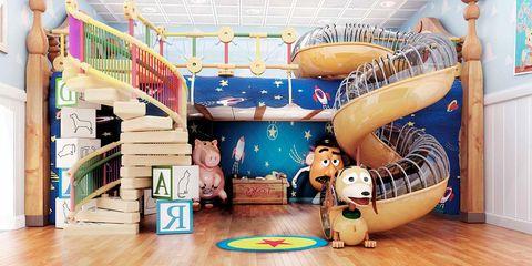 Dormitorio infantil: Toy Story