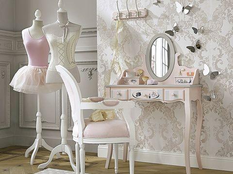 Product, Room, White, Interior design, Mannequin, Dress, Mirror, Interior design, Home, Design,