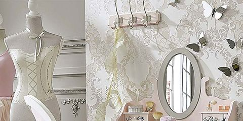 Interior design, Room, White, Wall, Mannequin, Mirror, Interior design, Grey, Home, Wallpaper,
