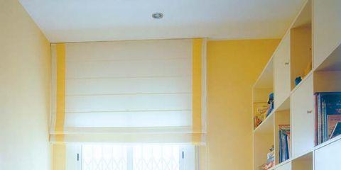 Room, Interior design, Yellow, Wood, Floor, Flooring, Bed, Wall, Home, Ceiling,