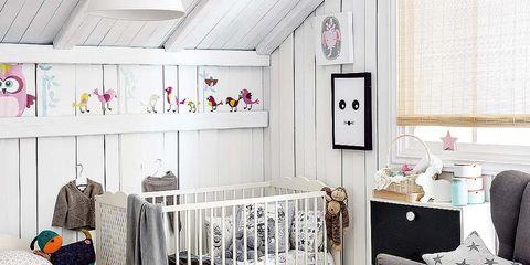 Room, Product, Interior design, Floor, Textile, Flooring, Interior design, Chest of drawers, Linens, Grey,