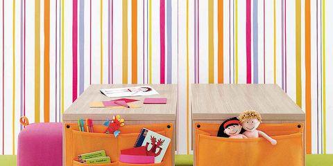 Pink, Magenta, Purple, Violet, Bed frame, Linens, Nightstand, Bedroom,