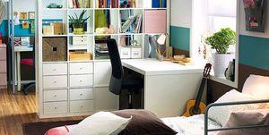 Escritorio habitación juvenil de IKEA