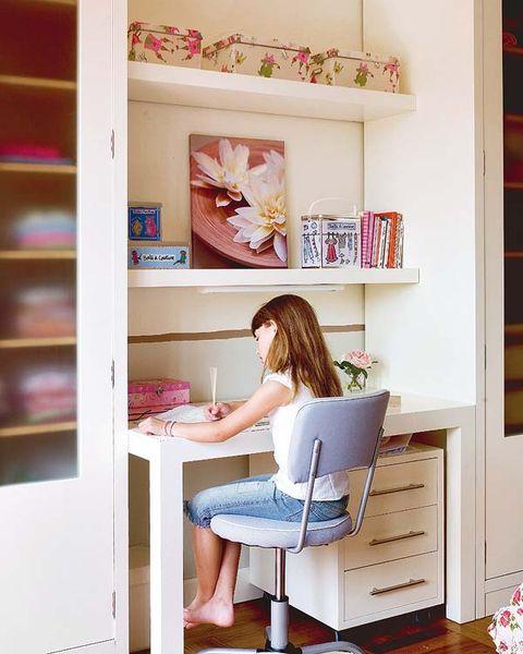 Escritorios juveniles y zonas de estudios para habitaciones ...