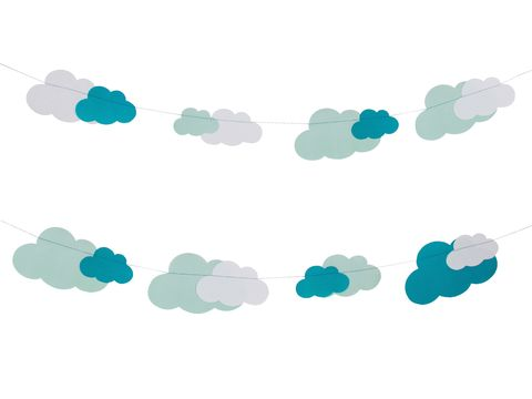 Cloud, Turquoise, Aqua, Pattern, Design, Line, Meteorological phenomenon, Illustration,