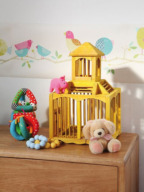 Product, Wood, Room, Toy, Baby toys, Pink, Baby Products, Stuffed toy, Nursery, Infant bed,