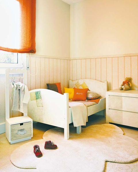 Room, Interior design, Property, Wall, Floor, Orange, Home, Furniture, Interior design, Flooring,
