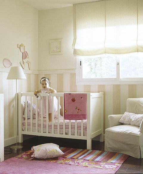 Room, Interior design, Product, Wood, Textile, Wall, Furniture, Pink, Linens, Interior design,