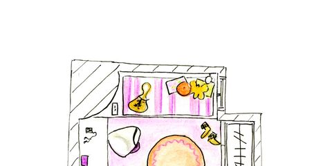 Circle, Illustration, Peach, Drawing, Diagram,
