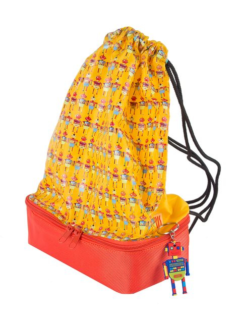 Headgear, Costume accessory, Orange, Bag, Shoulder bag, Headpiece,