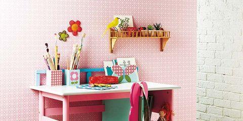 Room, Floor, Pink, Table, Flooring, Interior design, Interior design, Home accessories, Peach, Carpet,