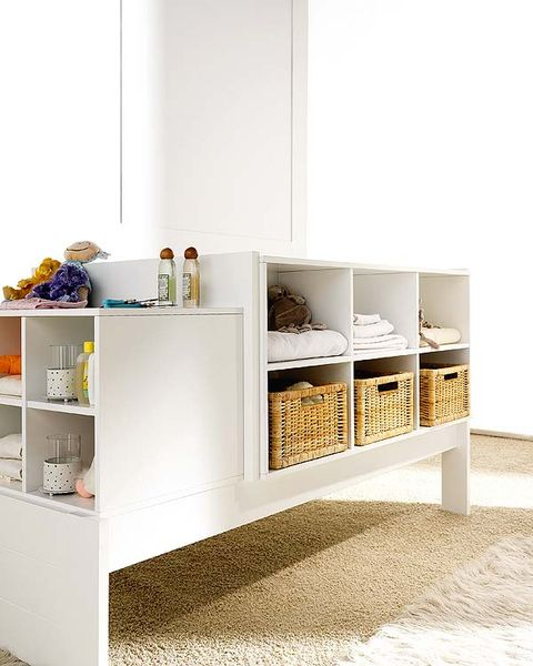 Room, Shelving, Wall, White, Interior design, Shelf, Grey, Beige, Tan, Cabinetry,