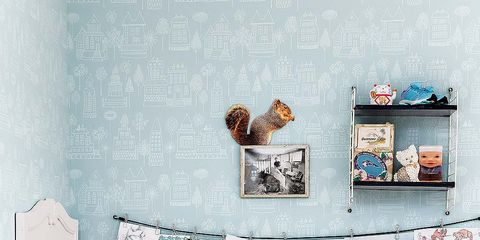Room, Wall, Baby & toddler clothing, Creative arts, Illustration, Sock, Linens, Baked goods, Dessert,