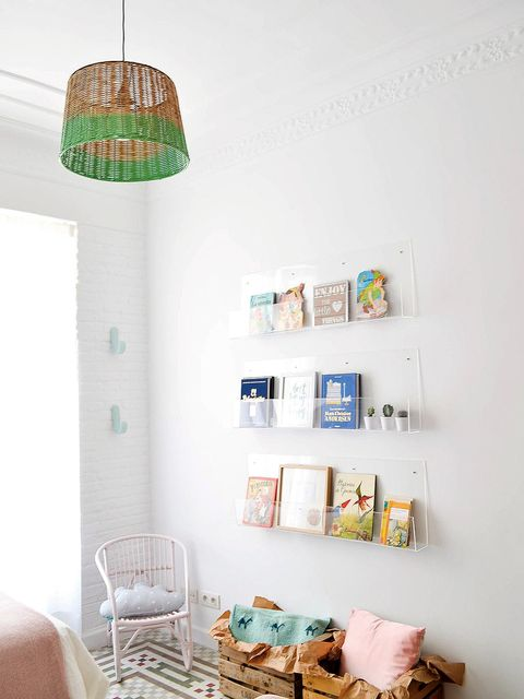 White, Shelf, Room, Turquoise, Green, Furniture, Blue, Product, Interior design, Teal,