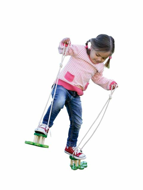 Trousers, Jeans, Denim, T-shirt, Knee, Magenta, Child model, Play, Outdoor shoe, Walking shoe,