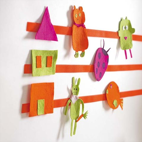 Organism, Textile, Magenta, Orange, Creative arts, Craft, Baby toys, Toy, Wool, Coquelicot,