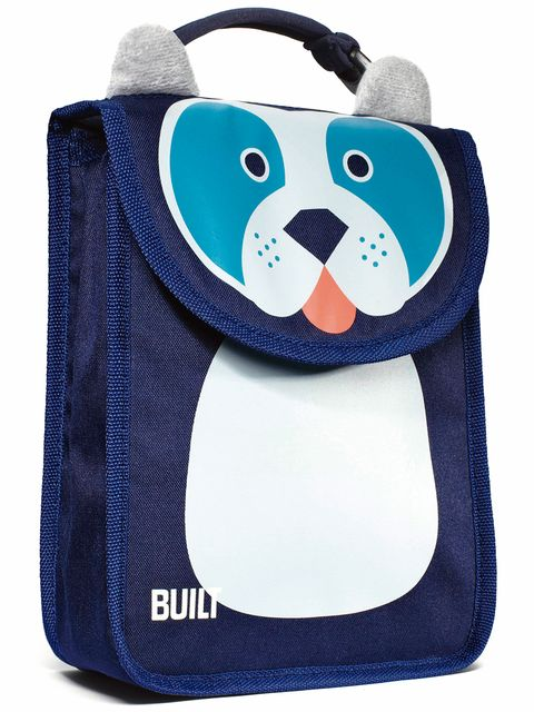Blue, Product, Bag, Pattern, Toy, Stuffed toy, Shoulder bag, Plush, Pocket, Penguin,