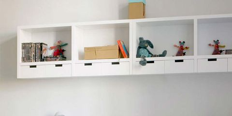 Room, Product, Interior design, Table, Wall, Furniture, Chair, Shelving, Interior design, Material property,