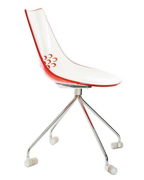 Product, Red, White, Chair, Line, Comfort, Carmine, Musical instrument accessory, Beige, Material property,