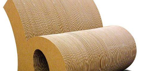 sofá de cartón