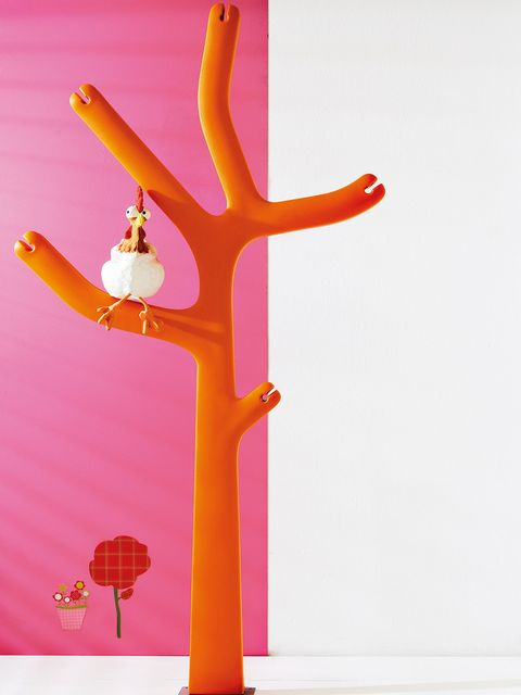 Branch, Orange, Peach, Lampshade, Lamp, Creative arts, Lighting accessory, Plant stem, Coquelicot, Lantern,