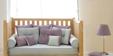 Wood, Brown, Room, Interior design, Wall, Couch, Furniture, Home, Floor, Purple,