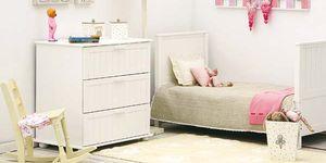 Dormitorio infantil con muebles crecederos