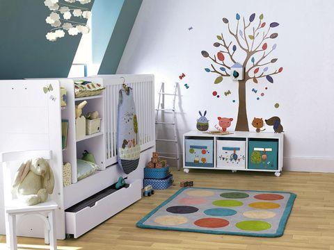 Interior design, Room, Flooring, Floor, Wall, Home, Interior design, Decoration, Wall sticker, Turquoise,