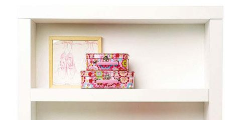 Shelving, Shelf, Red, Magenta, Pink, Wall, Maroon, Peach, Creative arts, Collection,