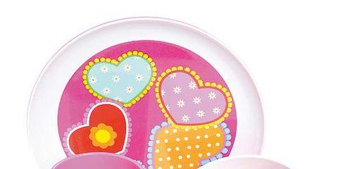 Magenta, Circle, Polka dot, Easter, Plastic,