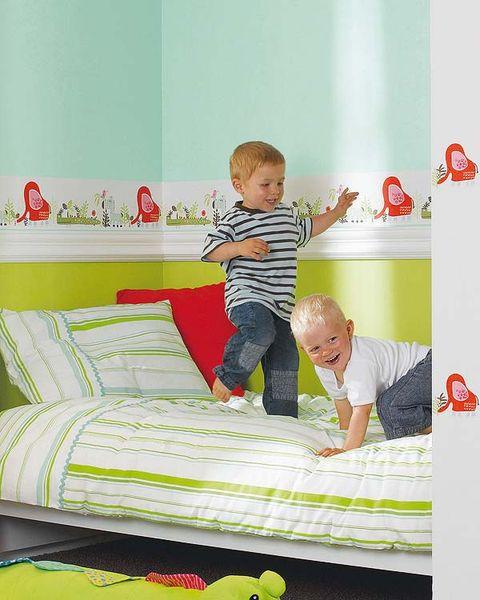 Paredes bonitas y resistentes en su dormitorio