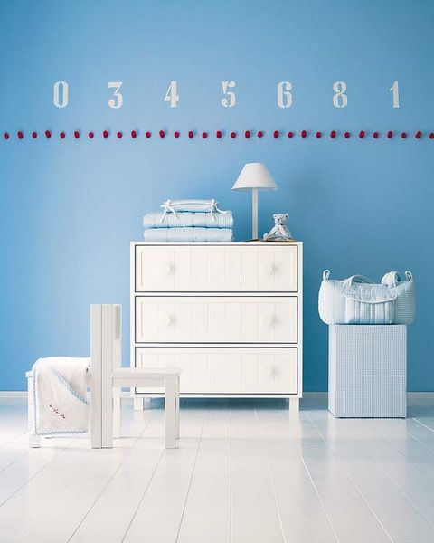 Blue, Product, Room, Wood, Drawer, Floor, White, Interior design, Wall, Furniture,
