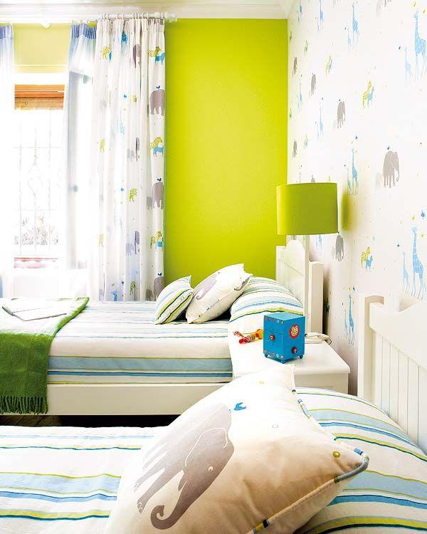 Renueva el dormitorio intantil con telas