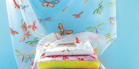 Textile, Pink, Linens, Bedding, Cushion, Turquoise, Teal, Creative arts, Bedroom, Bed sheet,