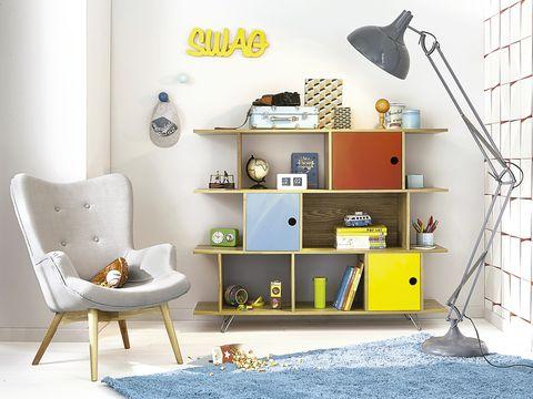 Dormitorio infantil: zonas de almacén