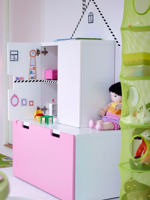 Shelf, Product, Pink, Furniture, Room, Shelving, Interior design, Material property, Drawer, Cupboard,