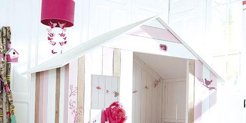 Room, Interior design, Pink, Magenta, Purple, Lantern, Interior design, Light fixture, Linens, Home,