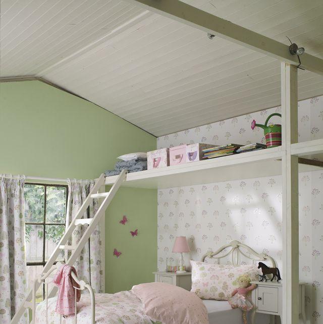 Dormitorio infantil con encanto rústico