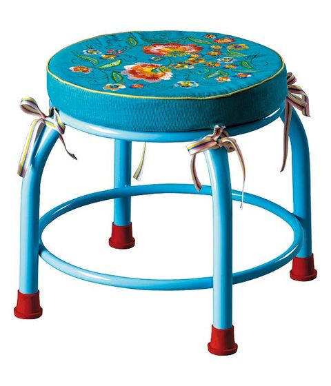 Blue, Furniture, Table, Teal, Turquoise, Aqua, Azure, Electric blue, End table, Paint,