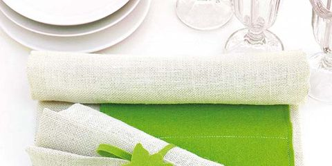Product, Green, Textile, White, Dishware, Napkin, Grey, Linens, Kitchen utensil, Home accessories,