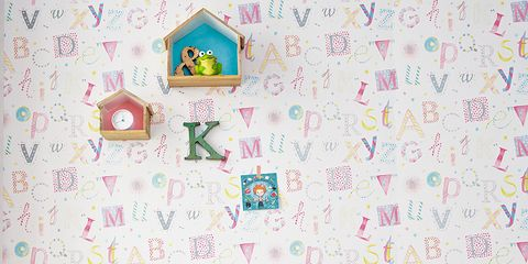 Room, Interior design, Textile, Pink, Wall, Furniture, Interior design, Teal, Pattern, Turquoise,