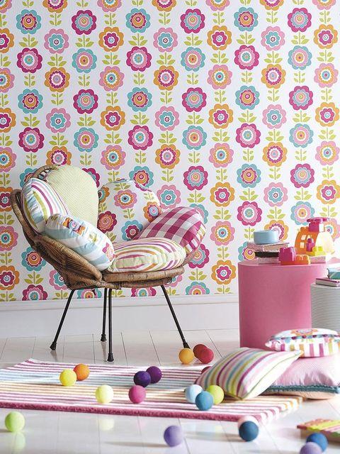Pattern, Purple, Pink, Chair, Violet, Lavender, Teal, Design, Peach, Wallpaper,