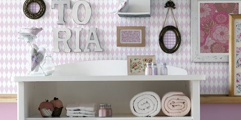 Product, Room, Wall, White, Pink, Cabinetry, Interior design, Purple, Drawer, Chest of drawers,