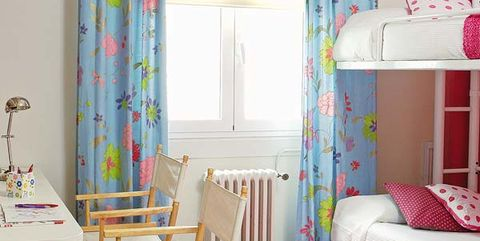 Blue, Room, Interior design, Textile, Pink, Floor, Purple, Interior design, Wall, Teal,