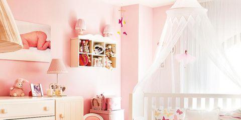 Room, Interior design, Home, Textile, Peach, Furniture, Wall, Pink, Interior design, Living room,