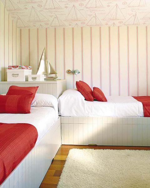 Bed, Room, Interior design, Property, Bedding, Textile, Floor, Bedroom, Wall, Bed sheet,