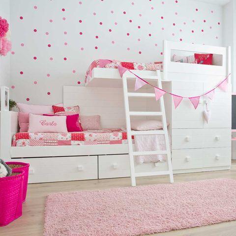 Room, Interior design, Textile, Pink, Wall, Furniture, Floor, Interior design, Home, Peach,